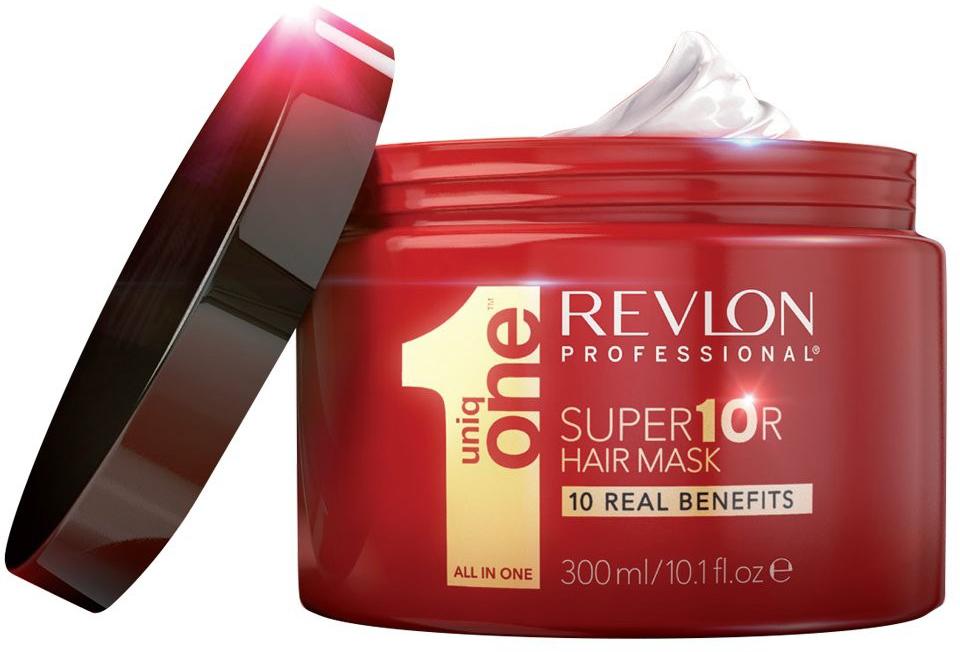 Uniq One Super Mask - Супермаска для волос 10 в 1 300 мл2023585Super Mask Uniq One - 10 реальных преимуществ в 1 продукте, который позволит вам забыть о других масках для волос. 1. Восстановление глубоко поврежденных волос. 2. Интенсивное питание. 3. Укрепляет волосы от корней до кончиков 4. Невероятный блеск 5. Шелковистость и гладкость 6. Сенсационное разглаживание и распутывание 7. Ультра- увлажнение. 8. Быстро впитывается всего за 3 мин. 9. Придание натурального объема волосам. 10. Формула, которая не жирнит волосы.Результат: легко смывается, восстанавливает и питает волосы, делая их мягкими и шелковистыми, предотвращая ломкость и секущиеся кончики.