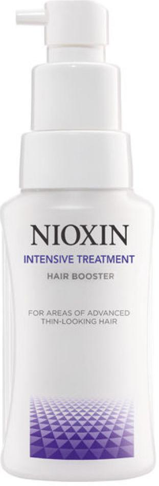 Nioxin Intensive Усилитель роста волос Therapy Hair Booster 50 мл81554580Средство для ухода за участками кожи головы с редеющими волосами от Ниоксин разработано для того, чтобы оживить проблемные участки кожи. Средство содержит богатый комплекс витаминов, которые наполняют волосяные луковицы питательными веществами. Также Hair Booster от Nioxin освобождает кожу головы от ороговевших участков эпителия и прекрасно увлажняет и защищает волосы от внешнего влияния. После применения средства для ухода за участками кожи головы с редеющими волосами от Ниоксин ваши волосы вновь оживают, становятся сильнее и лучше растут.