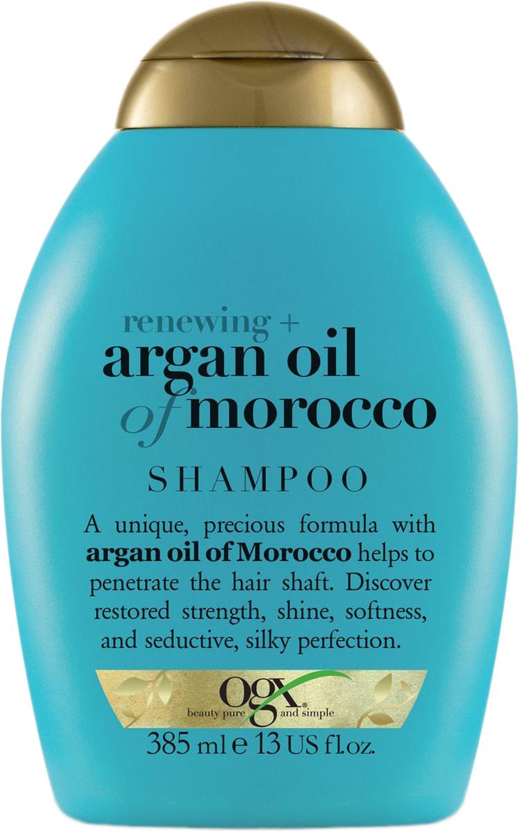 OGX Шампунь для восстановления волос с аргановым маслом, 385 мл.
