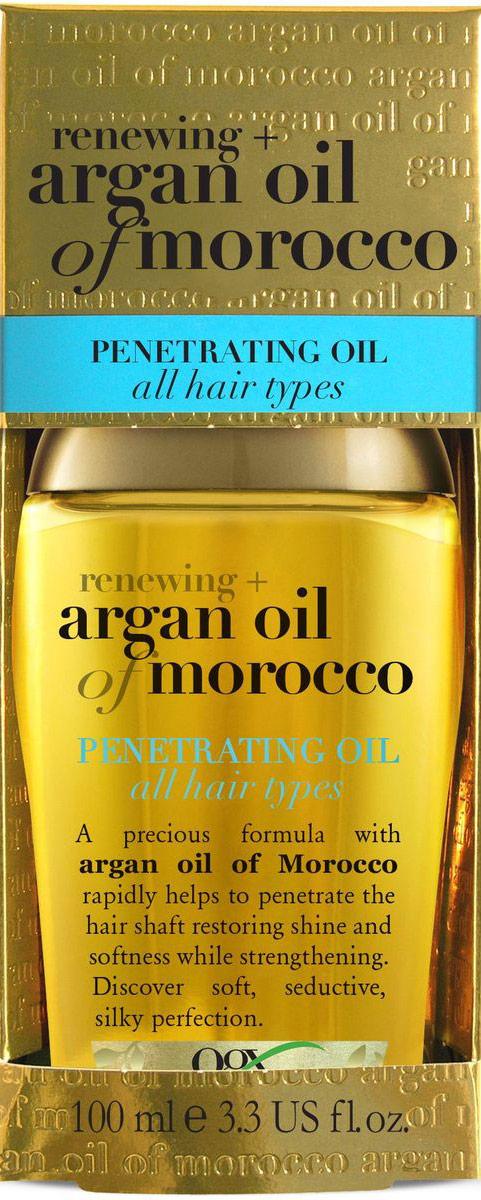 OGX Аргановое масло для восстановления волос, 100 мл. ogx argan oil аргановое масло для восстановления волос argan oil аргановое масло для восстановления волос