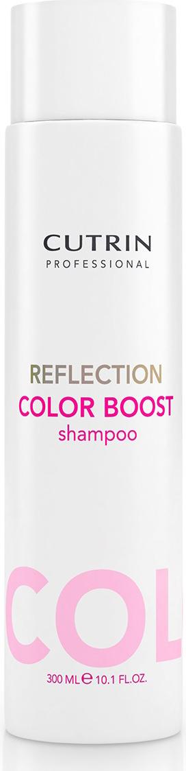 Cutrin Reflection Color Care Shampoo Шампунь для поддержания цвета окрашенных волос, 300 мл54236Шампунь серии Reflection Color Care финского бренда Cutrin. Обеспечивает бережное очищение окрашенных волос. Придает естественное сияние и ухоженный свежий вид волосам, поддерживает правильный гидробаланс. Содержит инновационные UV-фильтры и природные экстракты. Имеет приятный фруктовый аромат.