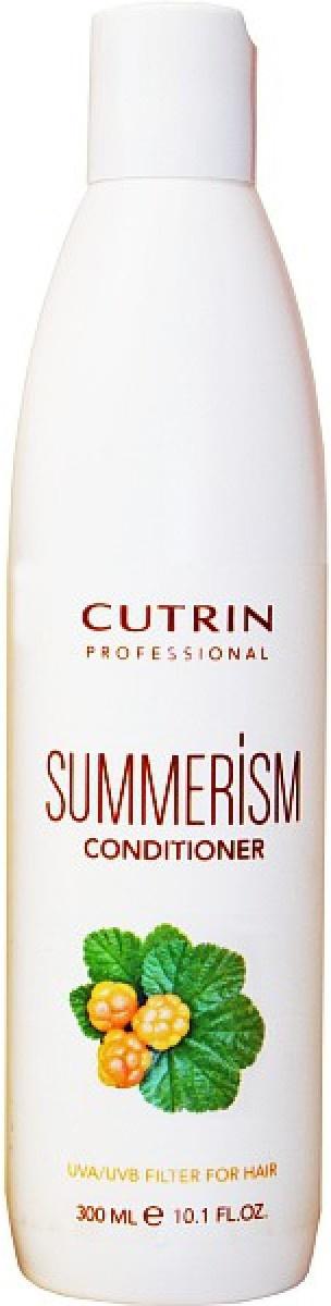 Cutrin Summerism Увлажняющий кондиционер с UV-защитой, 300 мл12673Кондиционер серии iSM Limited Edition финского бренда Cutrin. Обеспечивает интенсивное питание окрашенных ослабленных волос, не повреждает цвет и структуру волоса. Придает здоровый блеск и ухоженный свежий вид волосам. Содержит уф-фильтры, а также природные экстракты, и имеет приятный фруктовый аромат.