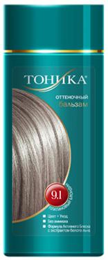 Тоника Оттеночный бальзам 9.1 Платиновый блондин, 150 млSSH-00019Хит продаж! Выбирайте платиновый цвет волос, который обязательно привлечет внимание всех вокруг! Красивые и здоровые волосы- важный элемент имиджа! Подходит для осветленных и светлых волосНе содержит спирт, аммиак и перекись водородаСодержит уникальный экстракт белого льнаКрасивый оттенок + дополнительный уходСтойкий цвет без вреда для волос