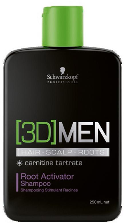 [3D]Men Шампунь активатор роста волос – очищение Root Activator Shampoo 250 мл [3d]men deep cleansing шампунь активатор роста волос – очищение 1000 мл
