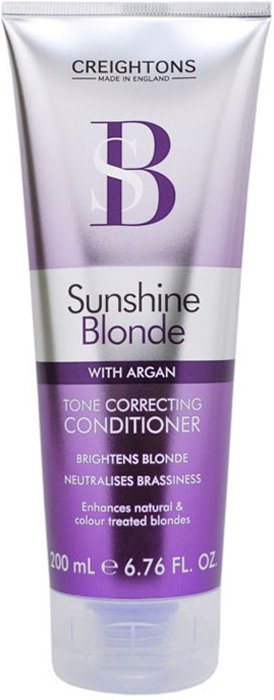 Creightons Кондиционер для восстановления и защиты цвета светлых волос, 200 млSN5503Кондиционер для восстановления и защиты цвета светлых волос препятствует потускнению цвета и делает оттенок блонд свежим и ярким. Масло Арганы заботится о сухих и поврежденных волосах, делая их мягкими и шелковистыми. ИСПОЛЬЗОВАТЬ НЕ ЧАЩЕ 3 РАЗ В НЕДЕЛЮ.
