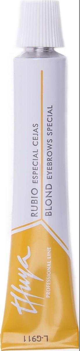 Thuya Блонд Краска для бровей и ресниц, 14 мл10015Разработана специально для профессионалов, осветляет на 1-2 тона. Осветление натуральных волос для последующего применения цветового оттенка. Не следует наносить на ресницы. Используется для: - для осветления натуральных бровей - для осветления темных бровей и последующего окрашивания в нужный тон светлого оттенка - для выравнивания цвета седых и неоднотонных бровей для их последующего однотонного ровного окрашивания Рекомендовано использование Кремового оксида Thuya. Всемирно-Известный Европейский бренд Компания THUYA уже более 25 лет занимает лидирующие позиции в Европе по производству продуктов для окрашивания бровей и ресниц ПРЕМИУМ класса и представлена в более чем 50 странах мира. Вся продукция проходит постоянные дерматологические офтальмологические тесты.Вся продукция является сертифицированной. Вся продукция соответствует высокому контролю качества в согласии с европейскими косметическими нормами (Genetest).