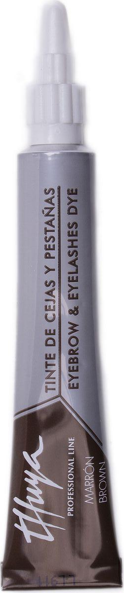 Thuya Коричневая Краска для бровей и ресниц, 14 мл10015Всемирно-Известный Европейский бренд Компания THUYA уже более 25 лет занимает лидирующие позиции в Европе по производству продуктов для окрашивания бровей и ресниц ПРЕМИУМ класса и представлена в более чем 50 странах мира. Вся продукция проходит постоянные дерматологические офтальмологические тесты.Вся продукция является сертифицированной. Вся продукция соответствует высокому контролю качества в согласии с европейскими косметическими нормами (Genetest).