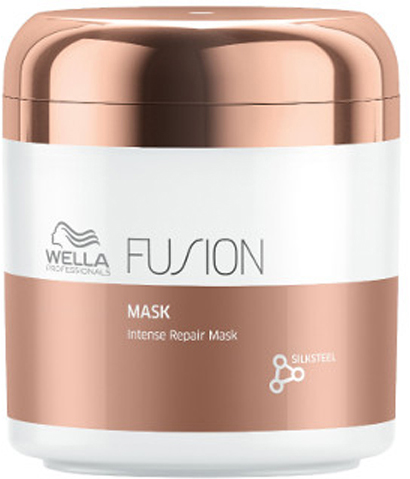Wella Professionals Fusion Mask Интенсивно восстанавливающая маска, 150 мл81616682Роскошная маска имеет текстуру нежнейшего крема и помогает ухаживать за поврежденными волосами, защищает их от дальнейшего повреждения. Содержит интенсивные кондиционирующие компоненты и аминокислоты шелка. - Маска мгновенно улучшает состояние волос, подверженных механически повреждениями. - Способствует легкому расчесыванию, делает волосы гладкими и эластичными.Маска из новой линии для интенсивного восстановления волос представляет собой средство ухода из 3-этапного сервиса длительностью 20 минут, который включает в себя - подготовку (очищение), уход и запечатывание кутикулы волоса (может проводиться с применением климазона или вапоризатора).Эта изысканная премиальная процедура с применением эксклюзивной амино-сыворотки Fusion способствует интенсивному восстановлению волос, делает их эластичными и защищает от дальнейших повреждений.Способ применения: Нанесите на влажные, вымытые волосы. Оставьте на 5 минут и затем тщательно смойте.