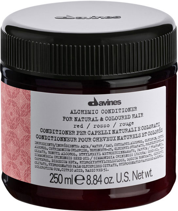Davines Alchemic Conditioner for natural and coloured hair (red) Кондиционер Алхимик для натуральных и окрашенных волос (красный), 250 мл abebe abeshu diro and dida midekso automatic morphological synthesizer for afaan oromoo
