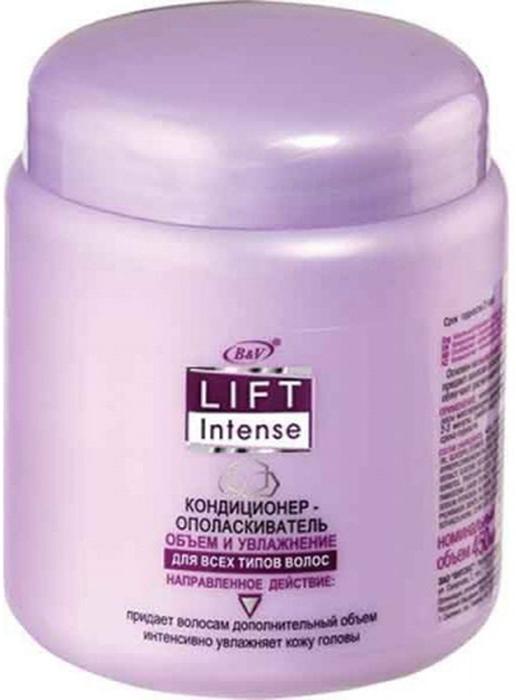 Витэкс Lift Intense Кондиционер-ополаскиватель Объем и Увлажнение для всех типов волос, 450 млV-326Назначение: Объем, Все типы волосЛиния: Lift IntenseЛегкий кондиционер — ополаскиватель дополняет действие шампуня и интенсивно увлажняет кожу головы. Содержит гиалуроновую кислоту и имбирь, которые питают, увлажняют и укрепляют волосы. Кондиционер-ополаскиватель придает волосам роскошный объем и блеск, облегчает расчесывание и укладку волос. Результат: волосы приобретают роскошный вид, улучшает их блеск и эластичность.