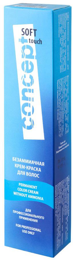 Сoncept Soft Touch Крем-краска 10.65 Очень светлый фиолетово-красный, 60 мл13526Стойкая безаммиачная крем-краска Soft Touch применяется только с низкопроцентной Окисляющей эмульсией 1,5% или 3%. Красители Soft Touch позволяют объединить окрашивание и уход в одной процедуре. Краска содержит триэтаноламин – регулятор рН, обеспечивающий эффективность всех компонентов, входящих в состав крем-краски, аргинин, льняное масло, кондиционирующие добавки, придающие волосам шелковистость, эластичность, блеск и объем при дальнейшей укладке. Soft Touch идеально подходит для тех, кто совмещает окрашивание и глубокий уход. Возможности Soft Touch — салонное окрашивание тон в тон, при затемнении, для освежения цвета окрашенных волос, для тонирования волос с повышенной пористостью, для окрашивания мужчин, подростков, тех, кто окрашивает волосы редко и желает избежать контрастной границы между натуральными и окрашенными волосами. Soft Touch надежно закрашивает седые волосы.