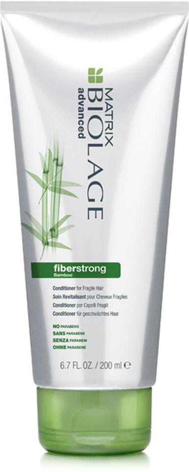 Matrix Biolage Fiberstrong кондиционер 200млE0955100Хрупкие волосы зачастую становятся тусклыми, склонными к ломкости и повреждениям. Кондиционер Biolage FIBERSTRONG™(Файберстронг), содержащий молекулу INTRA-CYLANE™ (Интра-Силан), экстракт бамбука и керамиды укрепляет и питает ослабленные, повреждённые волосы.Волосы одновременно сильные и невероятно мягкие на ощупь.ВОЛОСЫ В 12 РАЗ СИЛЬНЕЕ* ПОСЛЕ ПЕРВОГО ИСПОЛЬЗОВАНИЯ. -Облегчает расчёсывание волос, увлажняет, питает и повышает их эластичность -Волосы, одновременно устойчивые к повреждениям и -мягкие на ощупь, выглядят здоровыми -Уникальная формула с экстрактом бамбука и керамидами укрепляет ослабленные участки волос-Формула без парабенов. *При использовании системы из Файберстронг шампуня, кондиционера и укрепляющего крема Intra-Cylane™ по сравнению с шампунем без кондиционирующих свойств.