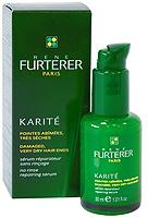 Восстанавливающая сыворотка Rene Furterer для поврежденных и очень сухих кончиков волос, 30 мл3282779354707Несмываемый ежедневный уход для кончиков волос. Сыворотка с высокой концентрацией масла Карите, обладающего превосходными питательными свойствами, восстанавливает поврежденные кончики и предотвращает образование секущихся волос.Рекомендуется для ежедневного использования. Одну или две капли сыворотки нанести на кончики волос. Не смывать! Уважаемые клиенты! Обращаем ваше внимание на возможные изменения в дизайне упаковки. Качественные характеристики товара остаются неизменными. Поставка осуществляется в зависимости от наличия на складе.