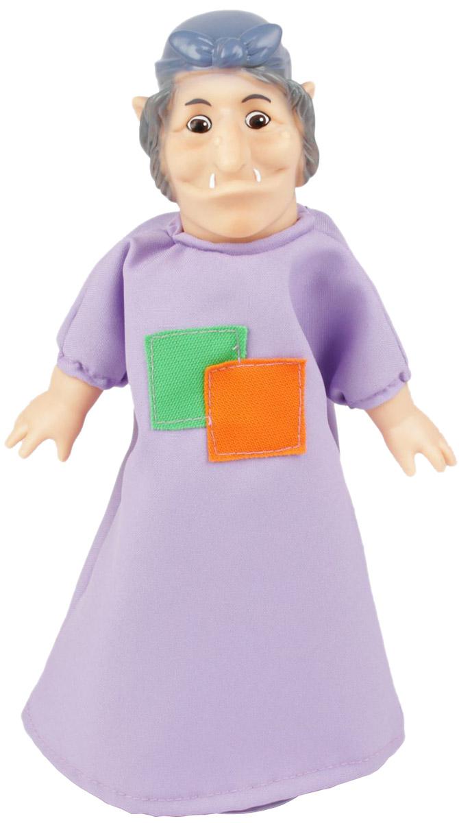 Sima-land Мягкая игрушка на руку Баба-Яга цвет сиреневый sima land мягкая игрушка на руку мальчик 1147835