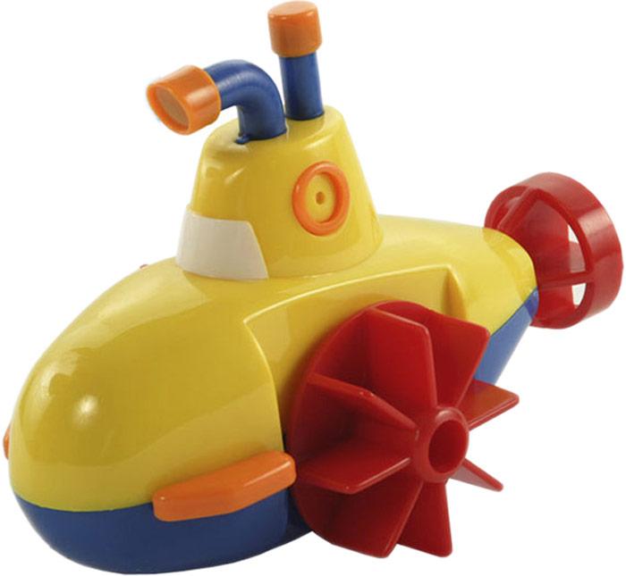 Bampi Заводная игрушка Вместе веселей Подводная лодка цвет синий желтый