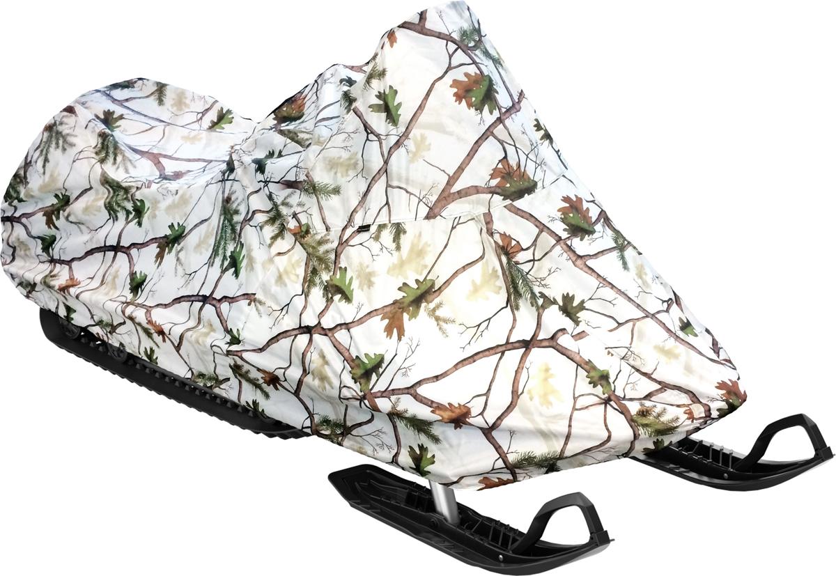 Чехол AG-brand, для хранения снегохода Ski-Doo SKANDIC SWT 600, цвет: зимний лесT001909Чехол для хранения снегохода Ski-Doo SKANDIC SWT 600. Изделие выполнено из прочнойвлагоотталкивающей ткани плотностью 240 Den, с применением армированных ниток. По нижнейкромке чехла вшита плотная резинка, обеспечивающая надежную фиксацию на снегоходе.
