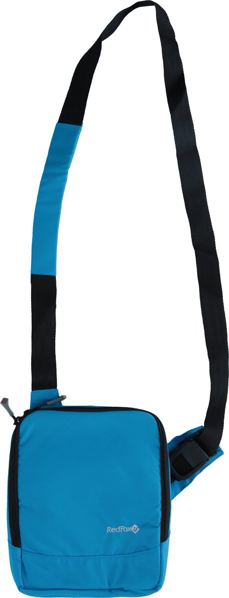 Сумка Red Fox Gadget Bag, цвет: голубой, 21 x 27 x 6 см1040253_голубойСумка Red Fox Gadget Bag - удобная городская сумка с множеством отделений. Особенности: - отделение, подходящее для размещения ультрабука,планшета, смартфона, - органайзер c карманами, - отделение для мобильного телефона, - отделения для канцелярских принадлежностей, - отделение на молнии, - открытый карман, - карабин для ключей,- регулируемый плечевой ремень.