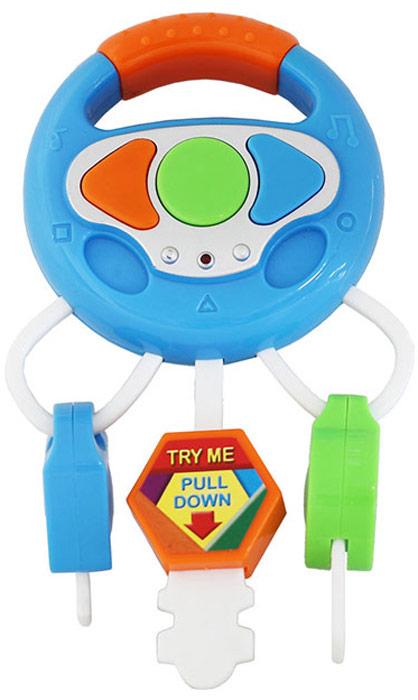 Фото Bampi Развивающая игрушка Музыкальные ключики цвет синий
