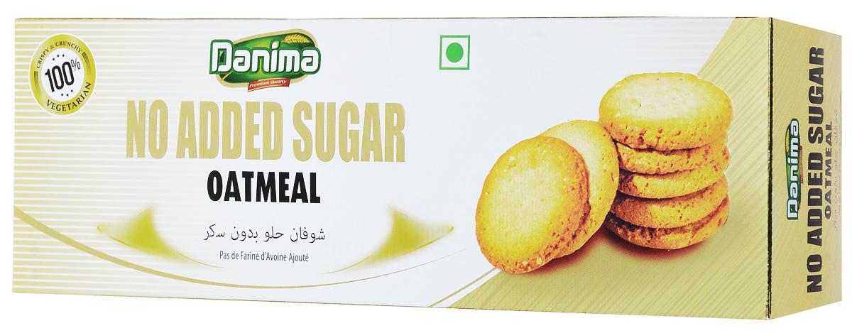 Danima овсяное индийское печенье без сахара, 150 г danima печенье ассорти с тмином и кокосовой стружкой 300 г