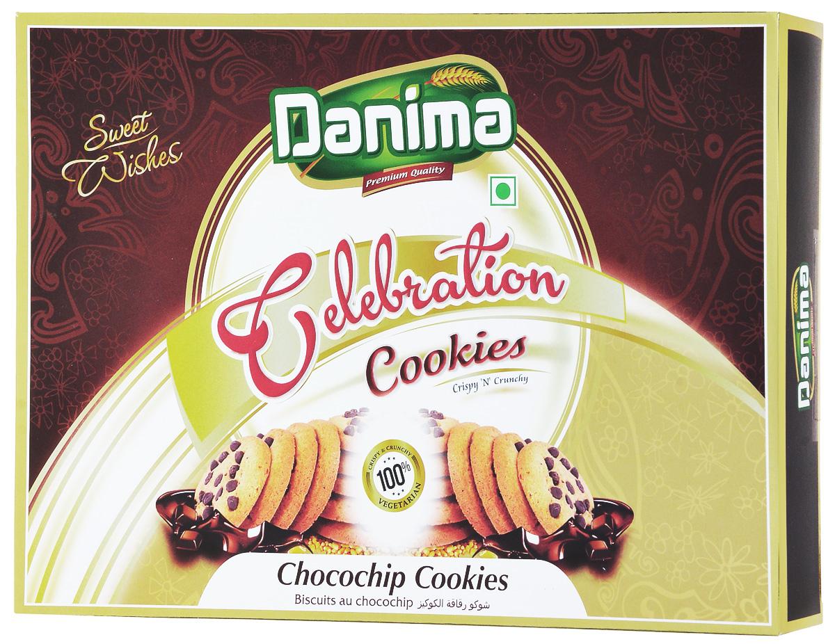 Danima чоко чип индийское печенье с шоколадом, 300 гdan11Чоко Чип - это ароматное хрустящее печенье с кусочками шоколада. Шоколад – одно из любимых лакомств сладкоежек. Давно подмечено, что после употребления шоколада повышается настроение, наблюдается прилив сил, тело приходит в тонус, а мысли – в порядок. Нет ни одного человека, который смог бы по доброй воле отказаться от ароматного кусочка шоколада. Чоко Чип с чаем или горячим молоком доставят огромное удовольствие. Упакованное в красивую подарочную коробкупеченьепослужитотличнымсладкимподарком.
