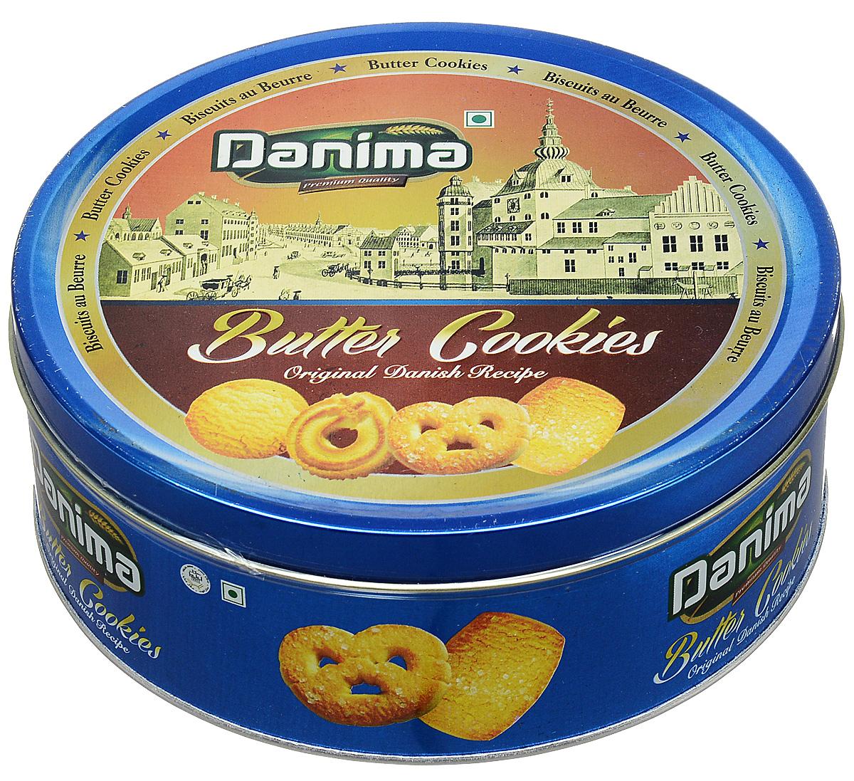 Danima сливочное индийское печенье, 340 г chokocat спасибо молочный шоколад 60 г