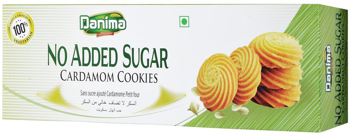 Danima индийское печенье без сахара с кардамоном, 150 г dr schar savoiardi печенье бисквитное 150 г