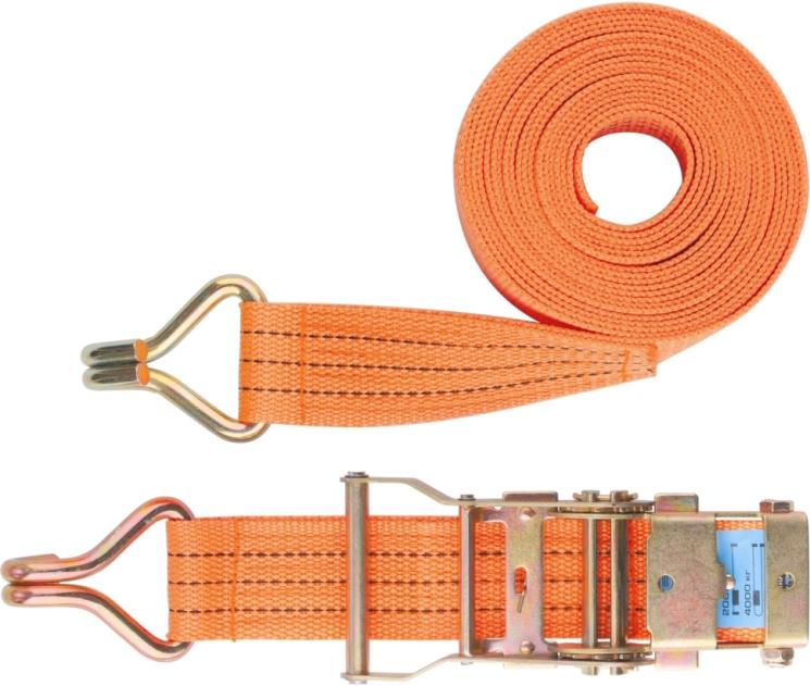 Ремень для крепления багажа Stels, с крюками, с храповый механизм, 10 м х 3,8 см54378Ремень багажный из синтетического материала с крюками на концах. Применяется для закрепления предметов в открытых багажниках, монтируемых на крышах легковых автомобилей. Храповой механизм обеспечивает легкость натяжения ремня.Ширина ленты: 3,8 см.Стяжное усилие: 1000 т.Длина ленты: 10 м
