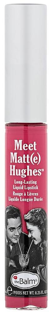 """theBalm Стойкий матирующий блеск для губ Meet Matt(e) Hughes Chivalrous,7,4 мл805134TheBalm представляет стойкую матовую помаду – Meet Matt(e) Hughes!Восемь очаровательных оттенков в коллекции из которых каждый сможет выбрать свой.Стойкая формула помады имеет комфортное матовое покрытие без каких-либо неприятных ощущений липкости.Meet Matt(e) Hughes с ароматом ванили и мяты надолго """"приклеится"""" к вашим губам!Adoring – насыщенный винный"""