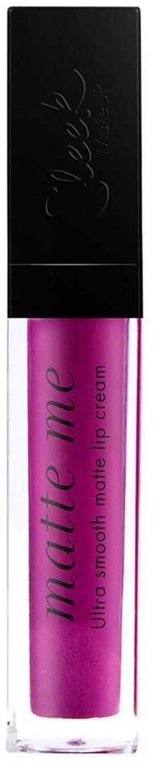 SLEEK MAKEUP Блеск для губ Matte Me Fandango Purple 431 , 6мл96078716блеск скользит по губам и придает им невероятно насыщенный оттенок. Идеальное нанесение в один слой. Хорошая стойкость и матовый эффект на губах. Не скатывается и не сушит губы.