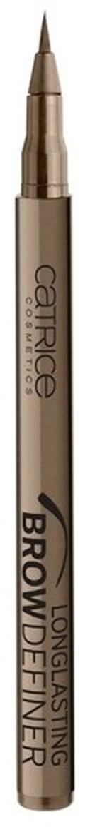 CATRICE Маркер для бровей Longlasting Brow Definer 020 flASHy Brows светло-коричневый, 1мл79150Мастерский результат! Инновационный маркер для бровей Longlasting Brow Definer с уникальной жидкой текстурой придает бровям выразительность и естественный цвет. Благодаря сверхтонкому аппликатору Вы с легкостью добьетесь желаемого результата и сможете без особенных усилий подчеркнуть брови и скорректировать их формуКак создать идеальные брови: пошаговая инструкция. Статья OZON Гид