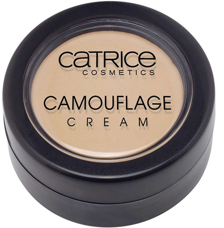 CATRICE Консилер Camouflage Cream 020 Light Beige светло-бежевый, 4,5гр тональная основа catrice hd liquid coverage foundation 020 цвет 020 rose beige variant hex name f1c6a7
