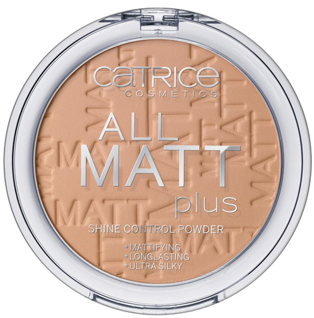 CATRICE Пудра компактная All Matt Plus Shine Control Powder 030 Warm Beige темно-бежевый, 10гр tronsmart usb2 0 usb c male to usb a sync