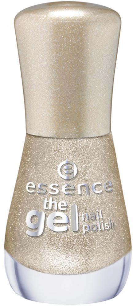 essence Лак для ногтей The gel nail темно-бежевый с блестками т.44, 8мл лаки для ногтей isadora лак для ногтей гелевый gel nail lacquer 244 6 мл