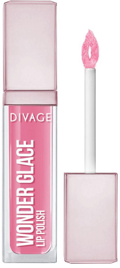 DIVAGE Лак для губ WONDER GLACE, тон № 04, 5 мл009301DIVAGE приготовил для тебя отличный подарок - лак для губ с инновационной формулой, которая придает глубокий и насыщенный цвет. Роскошное глянцевое сияние на твоих губах сделает макияж особенным и неповторимым. 8 самых актуальных оттенков, чтобы ты могла выглядеть ярко и привлекательно в любой ситуации. Особая форма аппликатора позволяет идеально прокрашивать губы и делает нанесение более комфортным. Лак не только смотрится ярко, но и увлажняет и защищает твои губы. Будь самой неповторимой этой весной и восхищай всех роскошным блеском и невероятно насыщенным цветом с лаком для губ «WONDER GLACE» от DIVAGE!
