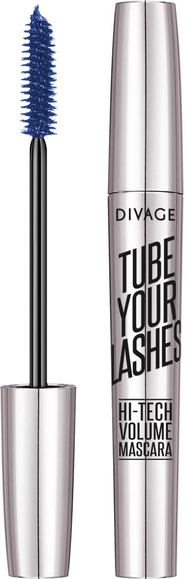 DIVAGE Тушь для ресниц TUBE YOUR LASHES, тон № 04, 10 мл набор тушь для ресниц divage 90x60x90 long lashes набор 30 тушь 7501 карандаш д губ контур прозначный