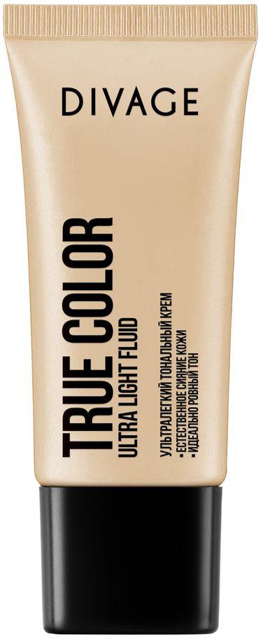 DIVAGE Тональный крем TRUE COLOR, тон № 05, 30 мл65500256Невидимая и лёгкая тональная основа с прозрачной водянистой текстурой эффективно увлажняет и освежает кожу. Влага наполняет клетки и хорошо удерживается в поверхности кожи. Масло авокадо и витамины Е помогают клеткам кожи противостоять вредным воздействиям окружающей среды. Хорошо увлажнённая и защищённая кожа выглядит свежей, ухоженной и ровной без ощущения «маски на лице».