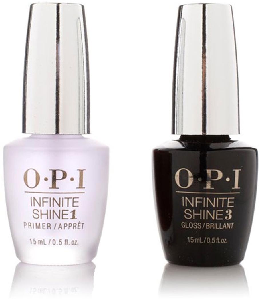OPI Набор Infinite Shine Duo Pack (IST10+IST30, 2*15 мл)SRG35-«Линия Infinite Shine была разработана в ответ на желание покупателей получить лаковые покрытия, которые не уступают гелевым, имеют самые модные оттенки, обладают уникальной формулой и носят культовые имена, которыми так знаменита компания OPI», - объясняет Сюзи Вайс-Фишманн, соучредитель и исполнительный вице-президент OPI.-«Покрытие Infinite Shine наносится и снимается точно так же, как и обычные лаки для ногтей, однако вы получаете те самые блеск и стойкость, которые отличают гелевую формулу!» Палитра Infinite Shine включает в себя широкий спектр оттенков,: от нейтральных до ярко-красных, оранжевых, розовых, а далее до темно-серых, синих и черного. В лаках Infinite Shine используется запатентованная формула. Каждый флакон снабжен эксклюзивной кистью ProWide™ для идеального нанесения.Как ухаживать за ногтями: советы эксперта. Статья OZON Гид