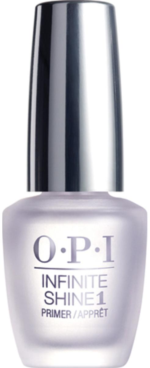 """OPI Infinite Shine Base Coat Базовое покрытие для ногтей, 15 млIST10""""Линия Infinite Shine была разработана в ответ на желание покупателей получить лаковые покрытия, по свойствам не уступающие гелевым, которые при этом имели бы самые модные оттенки, обладали уникальной формулой и носили культовые имена, которыми так знаменита компания OPI,"""" - объясняет Сюзи Вайс-Фишманн, соучредитель и исполнительный вице-президент OPI. """"Покрытие Infinite Shine наносится и снимается точно так же, как и обычные лаки для ногтей, однако вы получаете те самые блеск и стойкость, которые отличают гелевую формулу!""""Палитра Infinite Shine включает в себя широкий спектр оттенков, от нейтральных до ярко-красных, оранжевых, розовых, а далее до темно-серых, синих и черного.Лаки Infinite Shine имеют запатентованную формулу. Каждый флакон снабжен эксклюзивной кистью ProWide™ для идеального нанесения."""