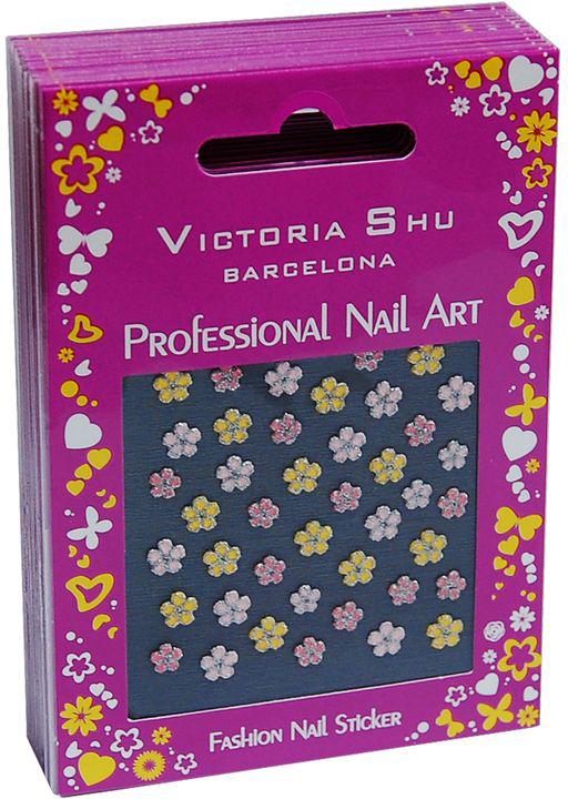Victoria Shu NS012 Комплект наклеек для ногтей, 12 шт victoria shu лак для ногтей extreme colour 266