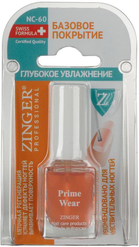 Zinger Базовое покрытие Глубокое увлажнение NC60, 12 мл77888Базовое покрытие. Увлажняющий комплекс. Насыщенное ценными минералами средство. Комплексный уход за чувствительными ногтями. Предотвращает сухость и расслоение ногтей. Восстанавливает обменные процессы.Уважаемые клиенты! Обращаем ваше внимание на то, что упаковка может иметь несколько видов дизайна. Поставка осуществляется в зависимости от наличия на складе.Как ухаживать за ногтями: советы эксперта. Статья OZON Гид