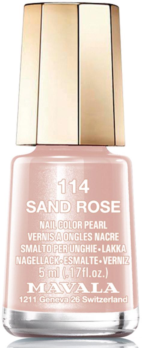 Mavala Лак для ногтей Розовый песок/Sand Rose , Тон 114, 5 мл08-1439Лаки для ногтей Mavala представлены классическими и ультрамодными оттенками. Они пропускают воздух даже через 3-4 слоя, давая возможность ногтям дышать. Специально разработанный состав лаков позволяет им оставаться свежими и насыщенными долгое время.Лаки не содержат толуол, формальдегид, камфору, дибутил фталат, канифоль и добавленный никель.Как ухаживать за ногтями: советы эксперта. Статья OZON Гид
