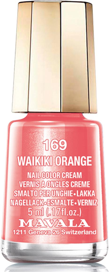 Mavala Лак для ногтей Гавайское солнце Waikiki Orange , Тон 169, 5 мл08-440Лаки для ногтей Mavala представлены классическими и ультрамодными оттенками. Они пропускают воздух даже через 3-4 слоя, давая возможность ногтям дышать. Специально разработанный состав лаков позволяет им оставаться свежими и насыщенными долгое время.Лаки не содержат толуол, формальдегид, камфору, дибутил фталат, канифоль и добавленный никель.Как ухаживать за ногтями: советы эксперта. Статья OZON Гид
