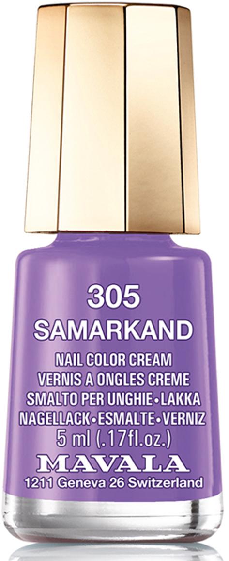 Mavala Лак для ногтей Самарканд/Samarkand , Тон 305, 5 мл лак для ногтей mavala so chic color s collection 367 цвет 367 feminine variant hex name b37d7d