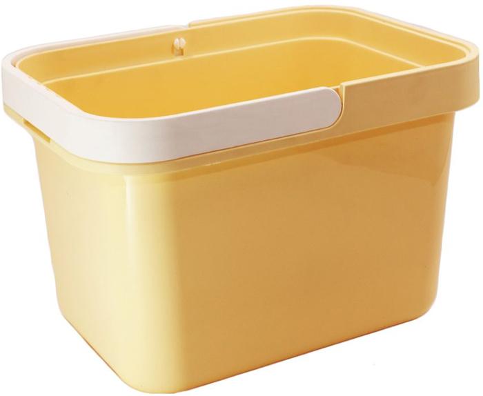 Ведро Plast Avenue, цвет: кремовый, прямоугольное, 12 л4612754053933Ведро изготовлено из высококачественного прочного пластика. Материал не токсичен - вы можете использовать его для пищевых продуктов, для сбора урожая и т.д. Оно легче железного и не подвержено коррозии. Ведро оснащено удобной пластиковой ручкой.