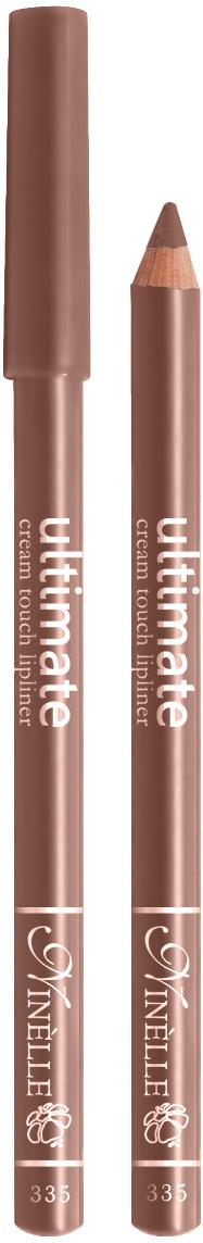 Ninelle Карандаш для губ Ultimate №335, 1,5 г29101443053Мягкий карандаш для создания идеального контура губ. Контурный карандаш с приятной, кремовой текстурой обогащен маслами и восками, смягчающими и питающими губы. Карандаш очень долго держится на губах. Позволяет моделировать контур губ, повышает стойкость губной помады или блеска, может наноситься на всю поверхность губ вместо помады. Предотвращает растекание помады или блеска.