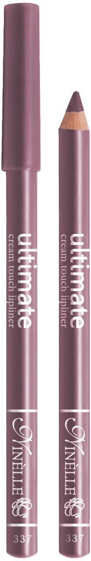Ninelle Карандаш для губ Ultimate №337, 1,5 г29101550001Мягкий карандаш для создания идеального контура губ. Контурный карандаш с приятной, кремовой текстурой обогащен маслами и восками, смягчающими и питающими губы. Карандаш очень долго держится на губах. Позволяет моделировать контур губ, повышает стойкость губной помады или блеска, может наноситься на всю поверхность губ вместо помады. Предотвращает растекание помады или блеска.
