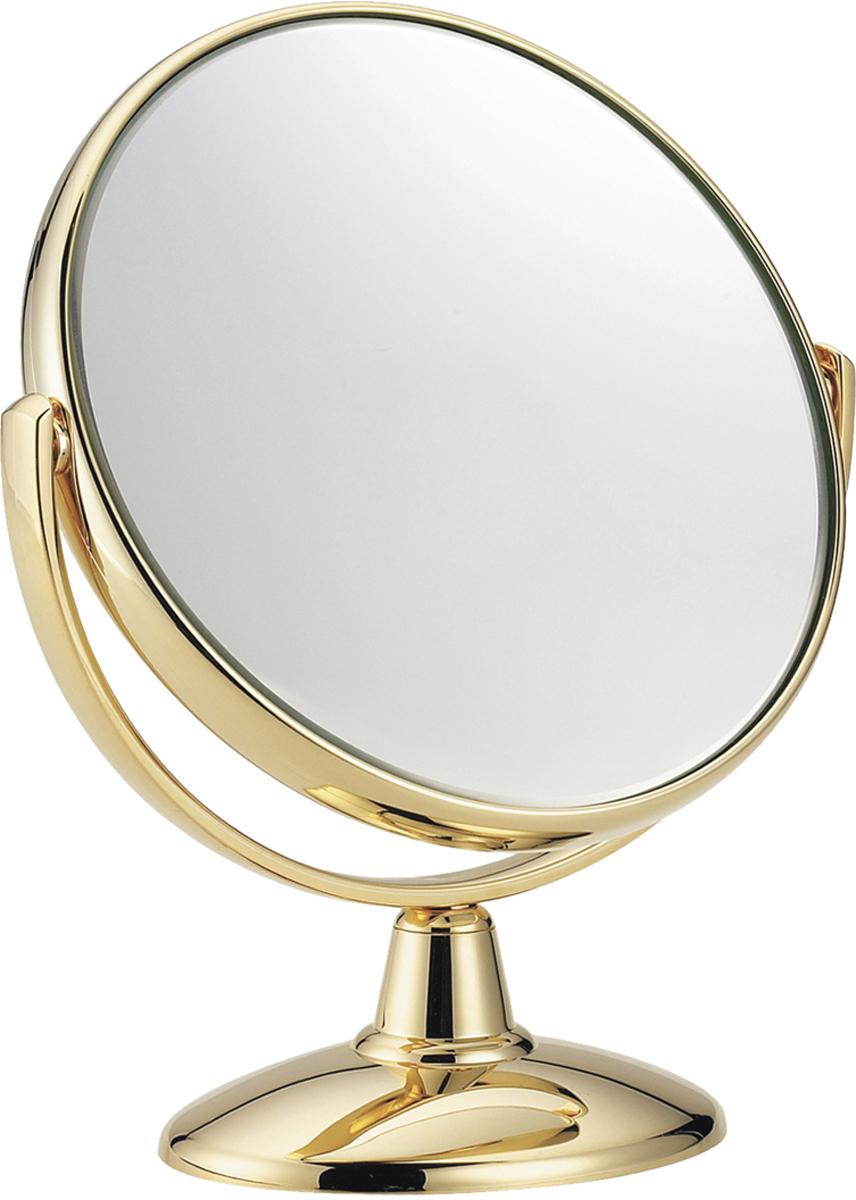 Janeke Зеркало настольное D170 линзы ZEISS позолоченное AU4963