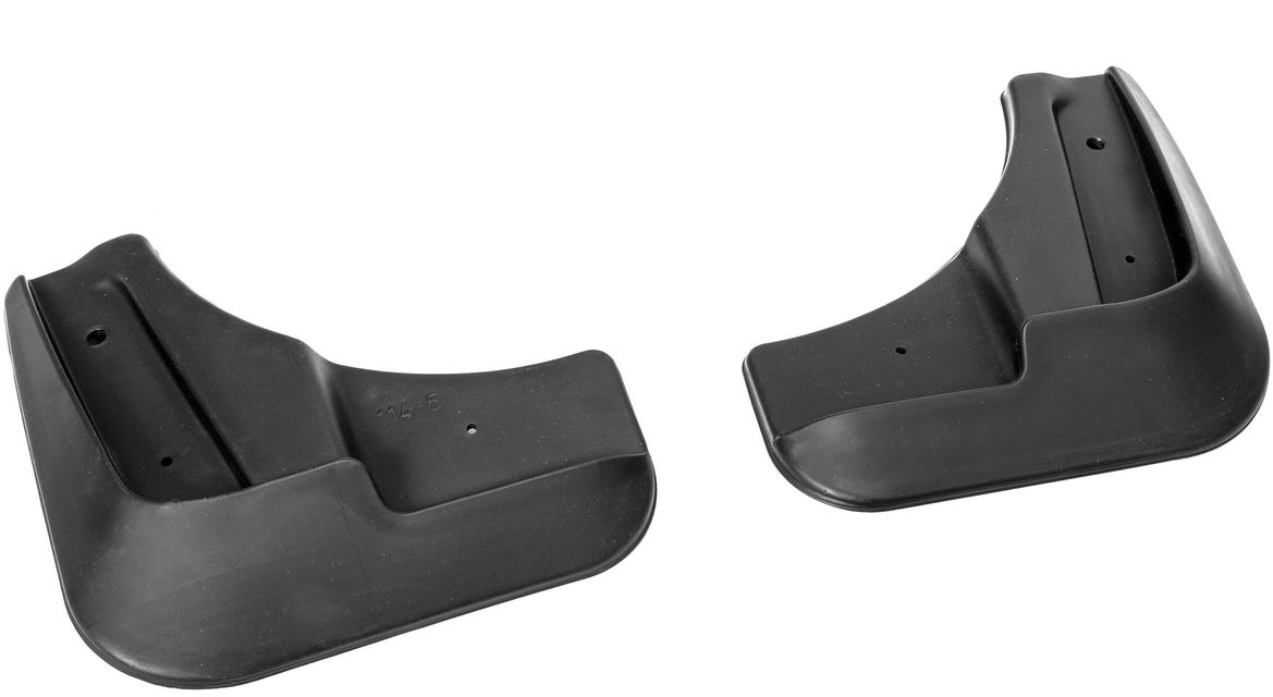 """Комплект передних брызговиков """"Rival"""", для Chevrolet Cruze 2010-, 2 шт"""