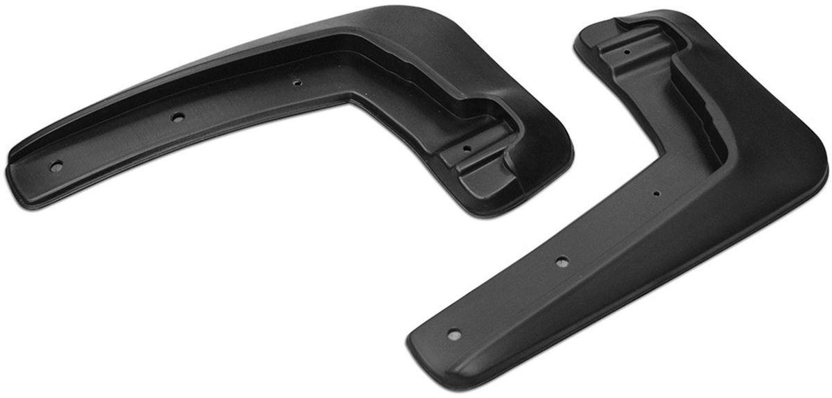 Комплект передних брызговиков  Rival , для Nissan Sentra 2014-, 2 шт - Тюнинг и защита - Брызговики