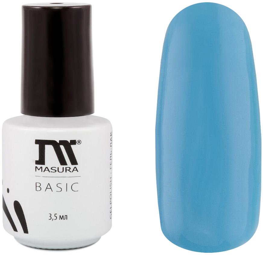Masura Гель-лак BASIC Мечты сбываются 3,5 мл08-348Небесно-голубой, без блесток и перламутра, плотныйКак ухаживать за ногтями: советы эксперта. Статья OZON Гид